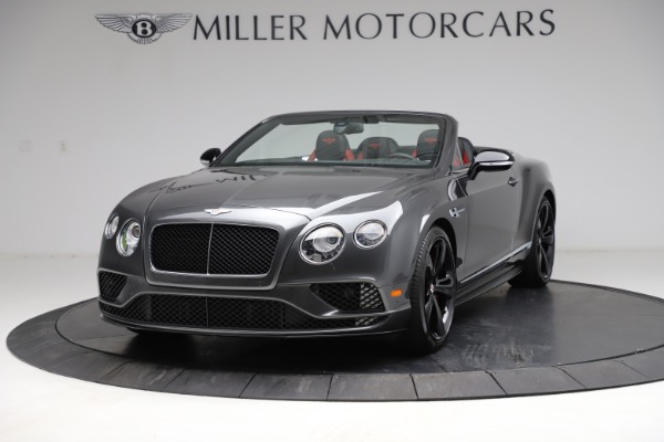 Used 2017 Bentley Continental GT V8 S for sale $179,900 at Alfa Romeo of Greenwich in Greenwich CT 06830 1