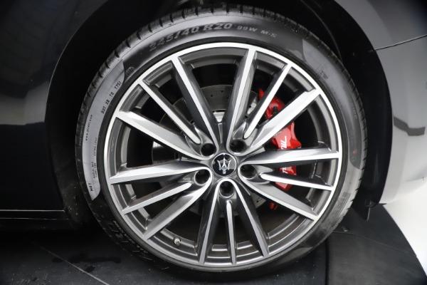 New 2021 Maserati Ghibli S Q4 for sale Call for price at Alfa Romeo of Greenwich in Greenwich CT 06830 28