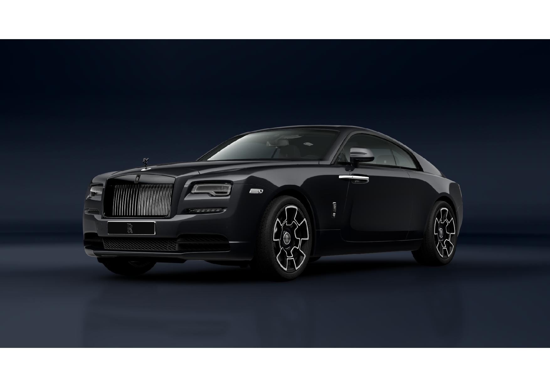 New 2021 Rolls-Royce Wraith Black Badge for sale Call for price at Alfa Romeo of Greenwich in Greenwich CT 06830 1