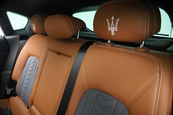 New 2021 Maserati Levante Q4 GranLusso for sale $93,385 at Alfa Romeo of Greenwich in Greenwich CT 06830 19