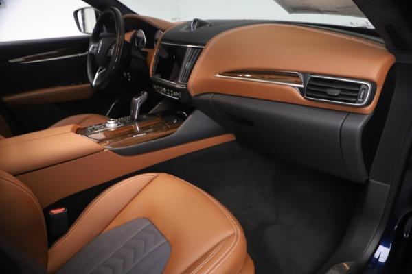 New 2021 Maserati Levante Q4 GranLusso for sale $93,385 at Alfa Romeo of Greenwich in Greenwich CT 06830 21