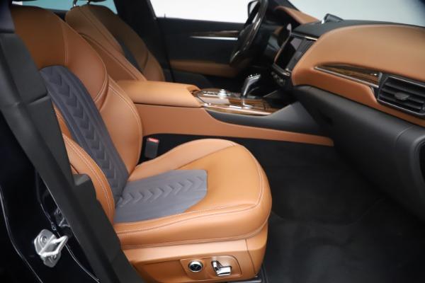 New 2021 Maserati Levante Q4 GranLusso for sale $93,385 at Alfa Romeo of Greenwich in Greenwich CT 06830 22