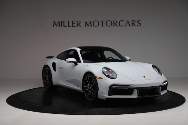 Used 2021 Porsche 911 Turbo S for sale Sold at Alfa Romeo of Greenwich in Greenwich CT 06830 11
