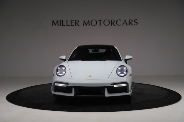 Used 2021 Porsche 911 Turbo S for sale Sold at Alfa Romeo of Greenwich in Greenwich CT 06830 12