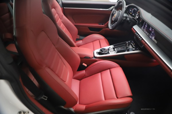 Used 2021 Porsche 911 Turbo S for sale Sold at Alfa Romeo of Greenwich in Greenwich CT 06830 17