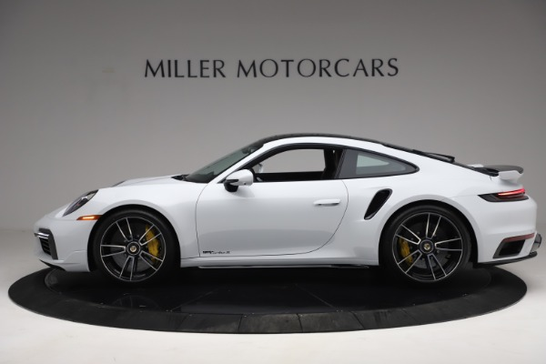 Used 2021 Porsche 911 Turbo S for sale Sold at Alfa Romeo of Greenwich in Greenwich CT 06830 3