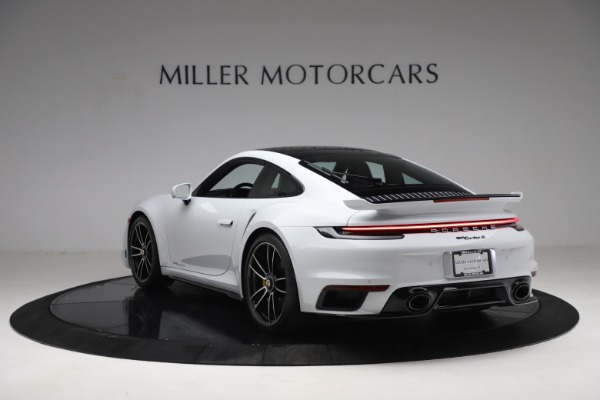 Used 2021 Porsche 911 Turbo S for sale Sold at Alfa Romeo of Greenwich in Greenwich CT 06830 5