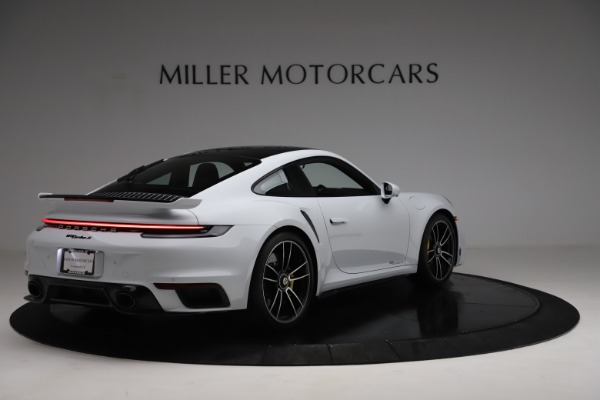 Used 2021 Porsche 911 Turbo S for sale Sold at Alfa Romeo of Greenwich in Greenwich CT 06830 7
