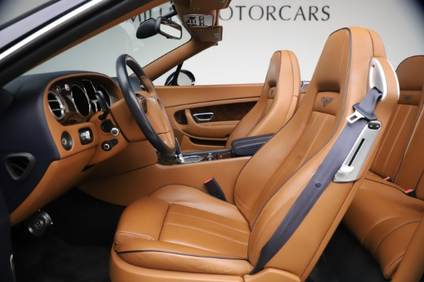 Used 2011 Bentley Continental GTC GT for sale Sold at Alfa Romeo of Greenwich in Greenwich CT 06830 26