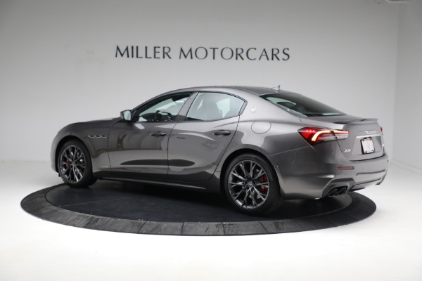 New 2021 Maserati Ghibli S Q4 GranSport for sale $100,635 at Alfa Romeo of Greenwich in Greenwich CT 06830 5