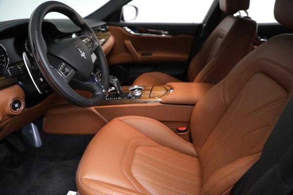 New 2021 Maserati Quattroporte S Q4 GranLusso for sale Call for price at Alfa Romeo of Greenwich in Greenwich CT 06830 15