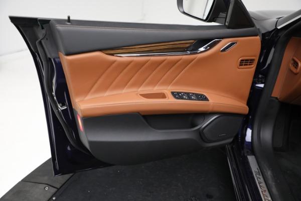 New 2021 Maserati Quattroporte S Q4 GranLusso for sale Call for price at Alfa Romeo of Greenwich in Greenwich CT 06830 17