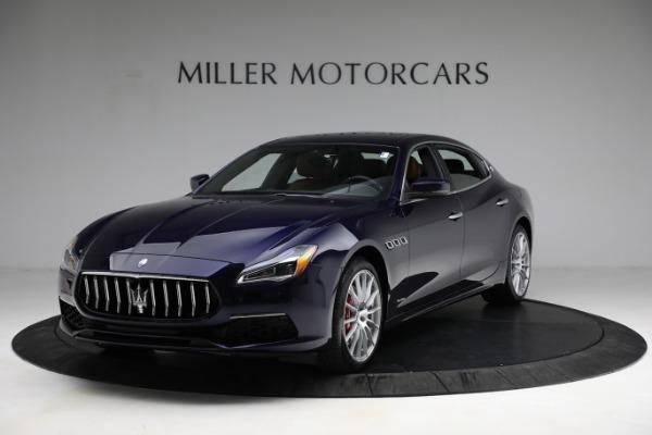 New 2021 Maserati Quattroporte S Q4 GranLusso for sale Call for price at Alfa Romeo of Greenwich in Greenwich CT 06830 2