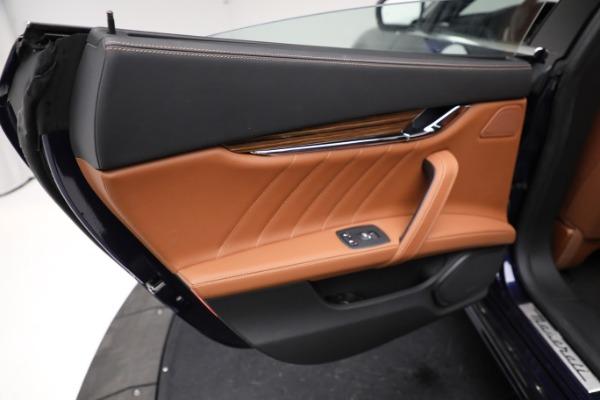 New 2021 Maserati Quattroporte S Q4 GranLusso for sale Call for price at Alfa Romeo of Greenwich in Greenwich CT 06830 21