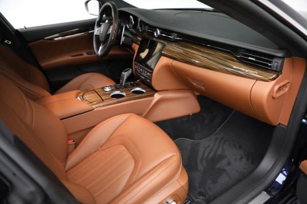 New 2021 Maserati Quattroporte S Q4 GranLusso for sale Call for price at Alfa Romeo of Greenwich in Greenwich CT 06830 22