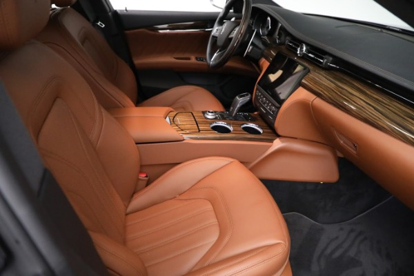 New 2021 Maserati Quattroporte S Q4 GranLusso for sale Call for price at Alfa Romeo of Greenwich in Greenwich CT 06830 23