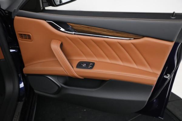 New 2021 Maserati Quattroporte S Q4 GranLusso for sale Call for price at Alfa Romeo of Greenwich in Greenwich CT 06830 24
