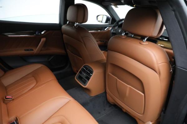 New 2021 Maserati Quattroporte S Q4 GranLusso for sale Call for price at Alfa Romeo of Greenwich in Greenwich CT 06830 25