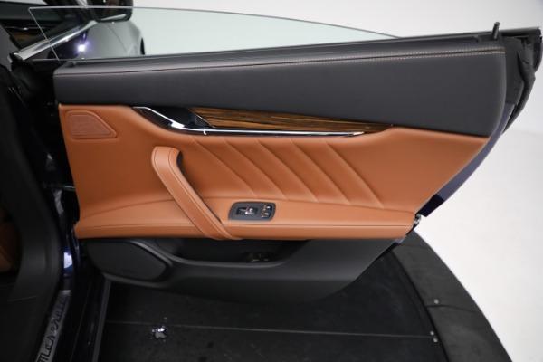 New 2021 Maserati Quattroporte S Q4 GranLusso for sale Call for price at Alfa Romeo of Greenwich in Greenwich CT 06830 28
