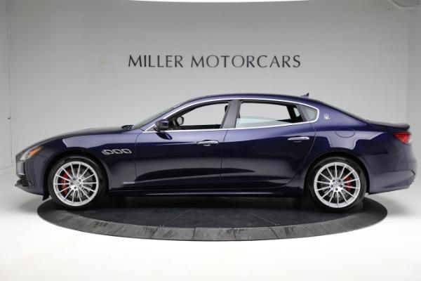 New 2021 Maserati Quattroporte S Q4 GranLusso for sale Call for price at Alfa Romeo of Greenwich in Greenwich CT 06830 3