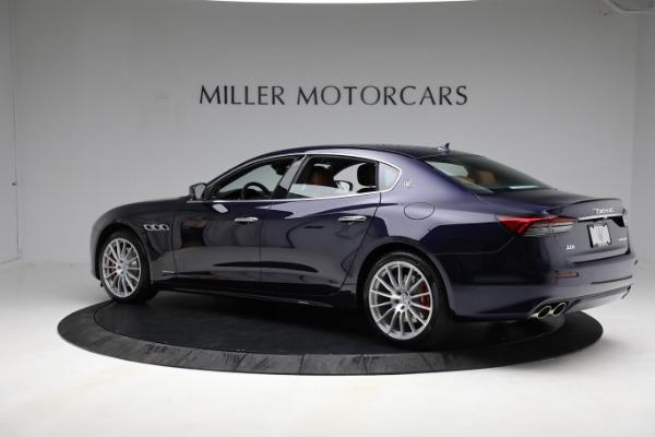 New 2021 Maserati Quattroporte S Q4 GranLusso for sale Call for price at Alfa Romeo of Greenwich in Greenwich CT 06830 4
