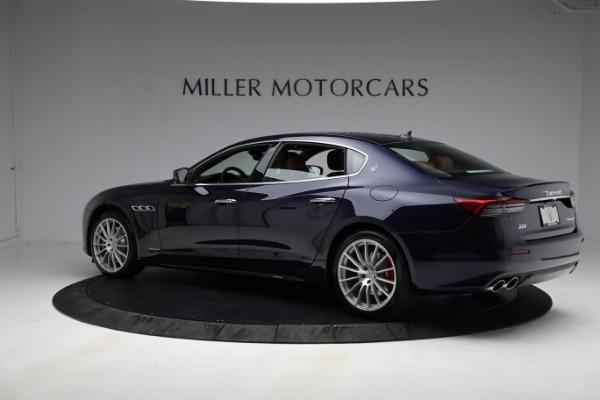 New 2021 Maserati Quattroporte S Q4 GranLusso for sale Call for price at Alfa Romeo of Greenwich in Greenwich CT 06830 5