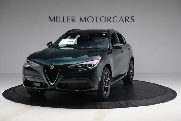 New 2021 Alfa Romeo Stelvio Ti Sport Q4 for sale $58,500 at Alfa Romeo of Greenwich in Greenwich CT 06830 1