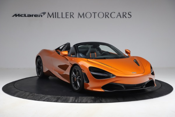 Used 2020 McLaren 720S Spider for sale $335,900 at Alfa Romeo of Greenwich in Greenwich CT 06830 11