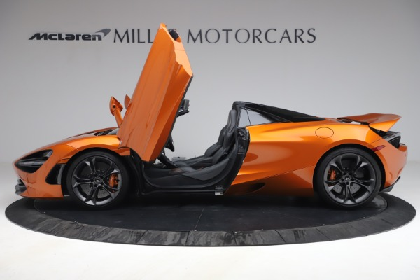 Used 2020 McLaren 720S Spider for sale $335,900 at Alfa Romeo of Greenwich in Greenwich CT 06830 15