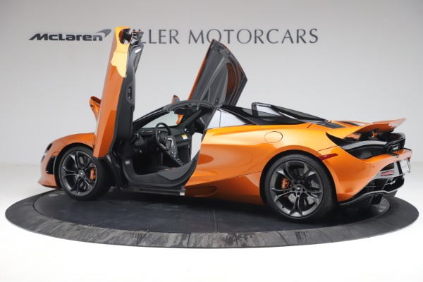 Used 2020 McLaren 720S Spider for sale $335,900 at Alfa Romeo of Greenwich in Greenwich CT 06830 16