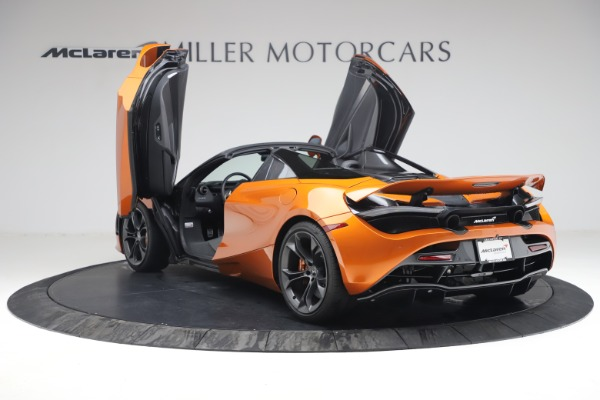 Used 2020 McLaren 720S Spider for sale $335,900 at Alfa Romeo of Greenwich in Greenwich CT 06830 17