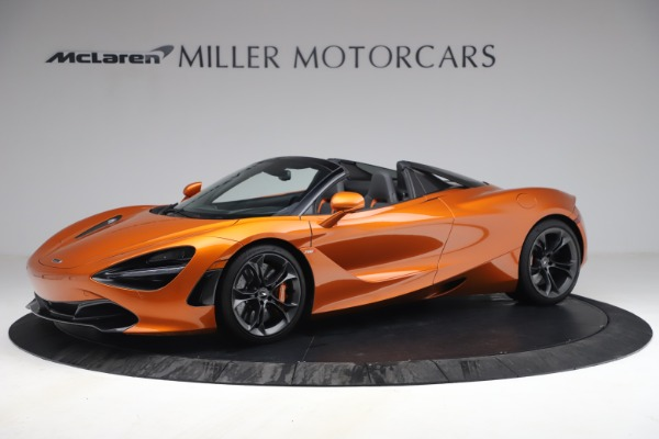 Used 2020 McLaren 720S Spider for sale $335,900 at Alfa Romeo of Greenwich in Greenwich CT 06830 2