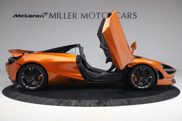 Used 2020 McLaren 720S Spider for sale $335,900 at Alfa Romeo of Greenwich in Greenwich CT 06830 21