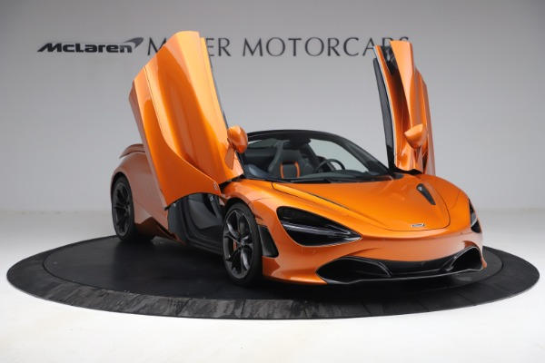 Used 2020 McLaren 720S Spider for sale $335,900 at Alfa Romeo of Greenwich in Greenwich CT 06830 23