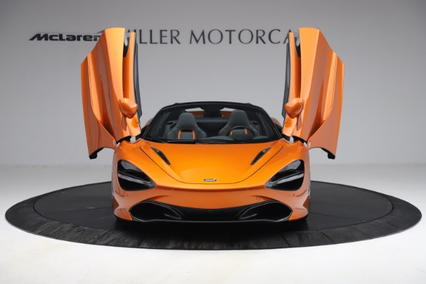Used 2020 McLaren 720S Spider for sale $335,900 at Alfa Romeo of Greenwich in Greenwich CT 06830 24