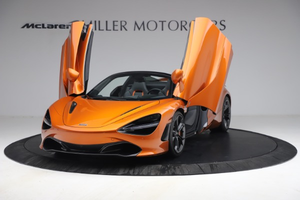 Used 2020 McLaren 720S Spider for sale $335,900 at Alfa Romeo of Greenwich in Greenwich CT 06830 25