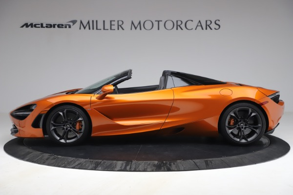 Used 2020 McLaren 720S Spider for sale $335,900 at Alfa Romeo of Greenwich in Greenwich CT 06830 3