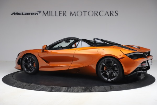 Used 2020 McLaren 720S Spider for sale $335,900 at Alfa Romeo of Greenwich in Greenwich CT 06830 4