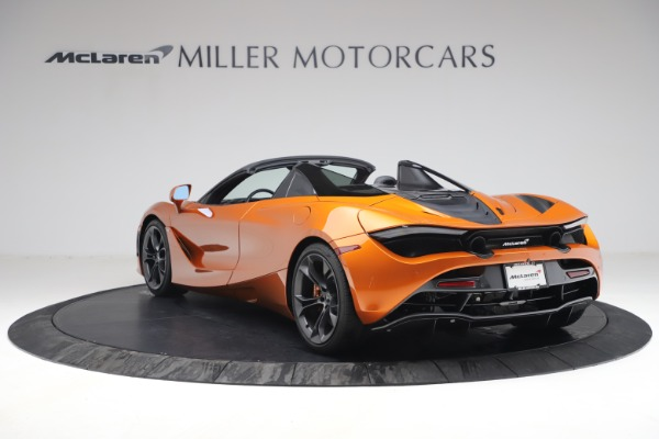 Used 2020 McLaren 720S Spider for sale $335,900 at Alfa Romeo of Greenwich in Greenwich CT 06830 5