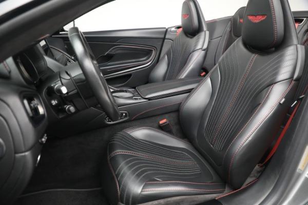 Used 2019 Aston Martin DB11 Volante for sale $209,900 at Alfa Romeo of Greenwich in Greenwich CT 06830 21