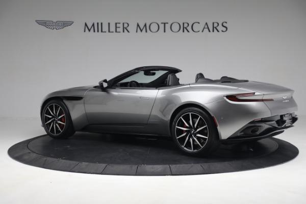 Used 2019 Aston Martin DB11 Volante for sale $209,900 at Alfa Romeo of Greenwich in Greenwich CT 06830 3