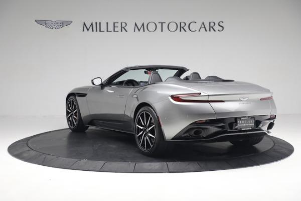 Used 2019 Aston Martin DB11 Volante for sale $209,900 at Alfa Romeo of Greenwich in Greenwich CT 06830 4
