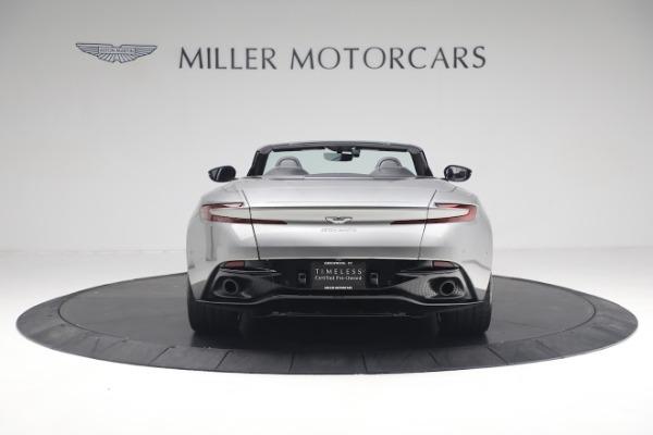 Used 2019 Aston Martin DB11 Volante for sale $209,900 at Alfa Romeo of Greenwich in Greenwich CT 06830 5