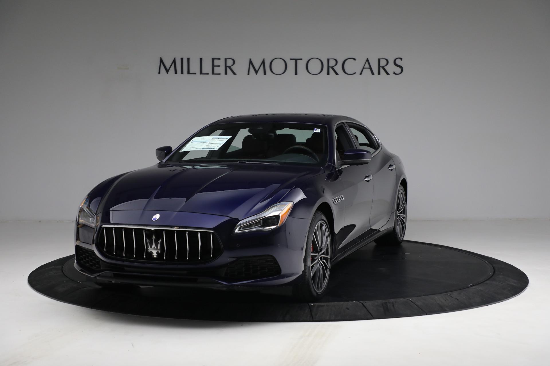 New 2021 Maserati Quattroporte S Q4 for sale $121,749 at Alfa Romeo of Greenwich in Greenwich CT 06830 1