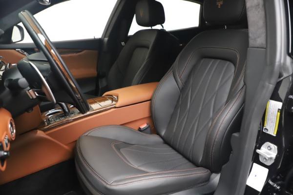 New 2021 Maserati Quattroporte S Q4 GranLusso for sale $129,135 at Alfa Romeo of Greenwich in Greenwich CT 06830 15