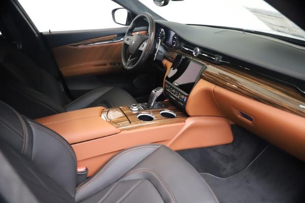 New 2021 Maserati Quattroporte S Q4 GranLusso for sale $129,135 at Alfa Romeo of Greenwich in Greenwich CT 06830 18