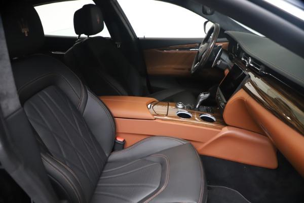 New 2021 Maserati Quattroporte S Q4 GranLusso for sale $129,135 at Alfa Romeo of Greenwich in Greenwich CT 06830 19