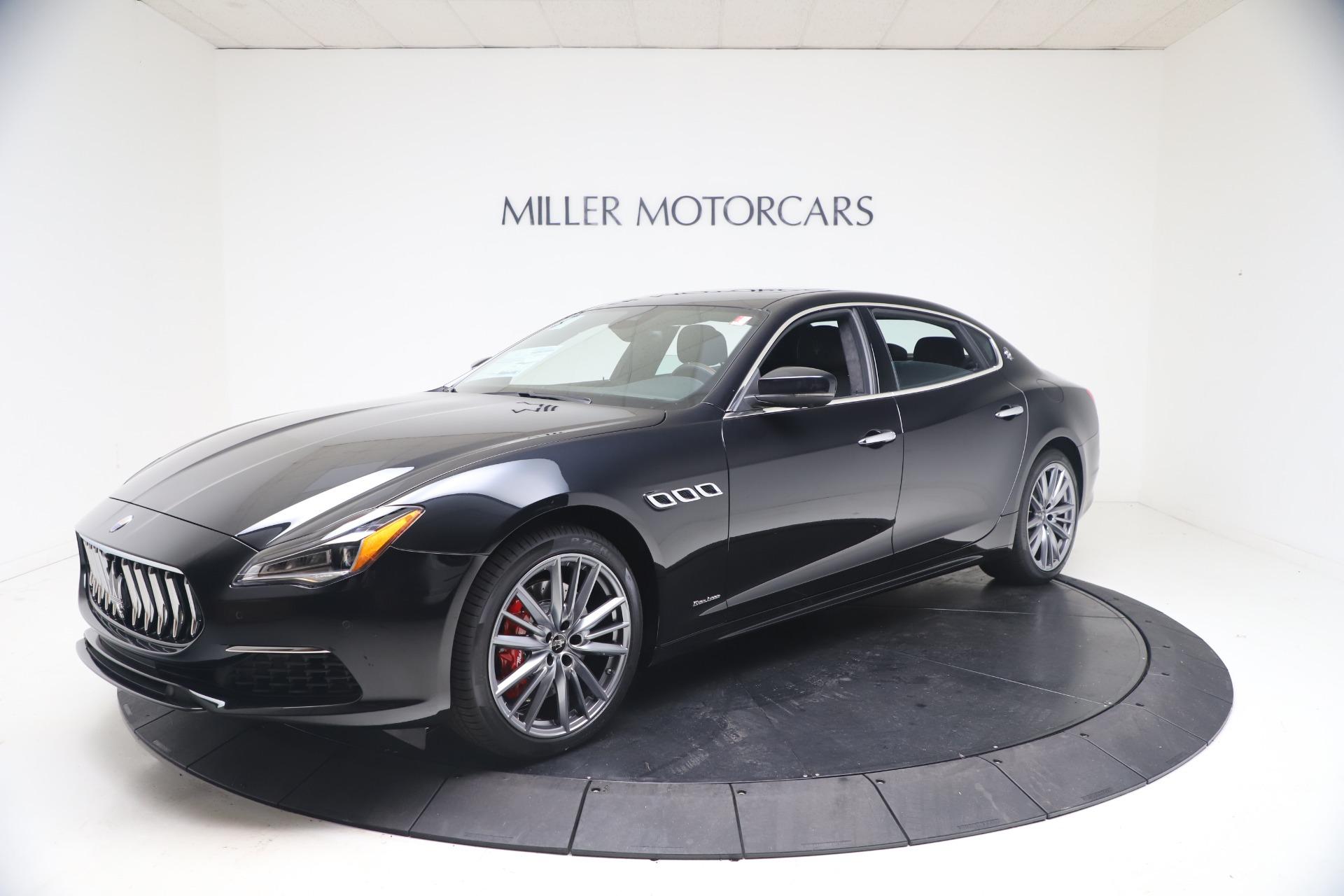 New 2021 Maserati Quattroporte S Q4 GranLusso for sale $129,135 at Alfa Romeo of Greenwich in Greenwich CT 06830 1