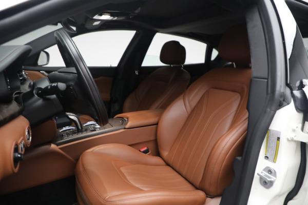 New 2021 Maserati Quattroporte S Q4 GranLusso for sale $120,599 at Alfa Romeo of Greenwich in Greenwich CT 06830 13