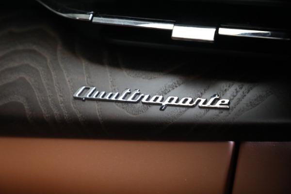 New 2021 Maserati Quattroporte S Q4 GranLusso for sale $120,599 at Alfa Romeo of Greenwich in Greenwich CT 06830 22